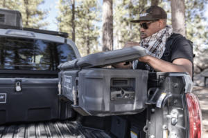 Camping - Case storage on Ute