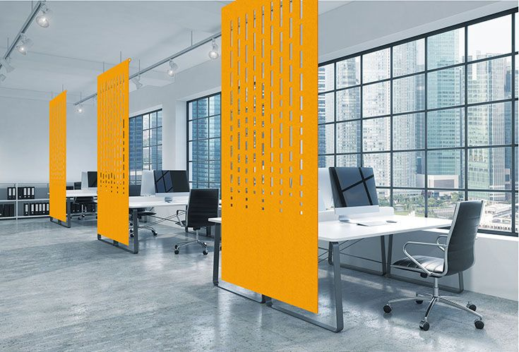 Decorative Screens - Yellow